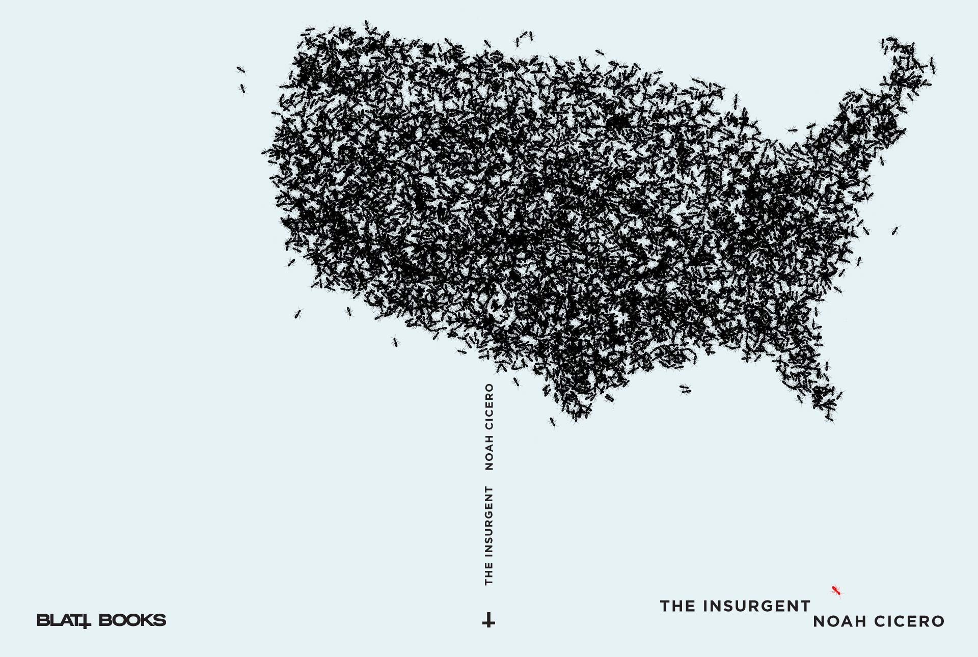Noah Cicero The Insurgent Book Cover Design Mario Dzurila