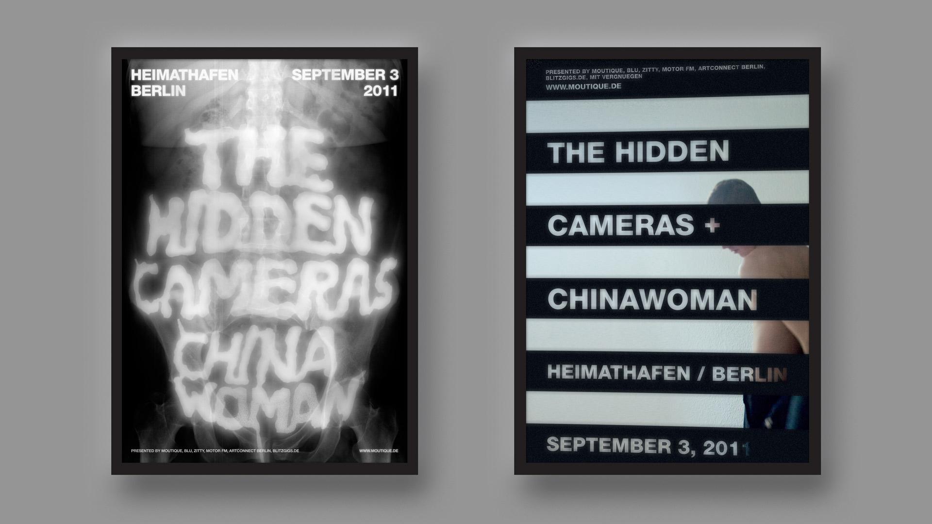 The Hidden Cameras Berlin Mario Dzurila Poster Design