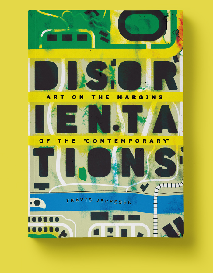 Mario Dzurila Book Cover Interior Layout Design Disorientations Travis Jeppesen