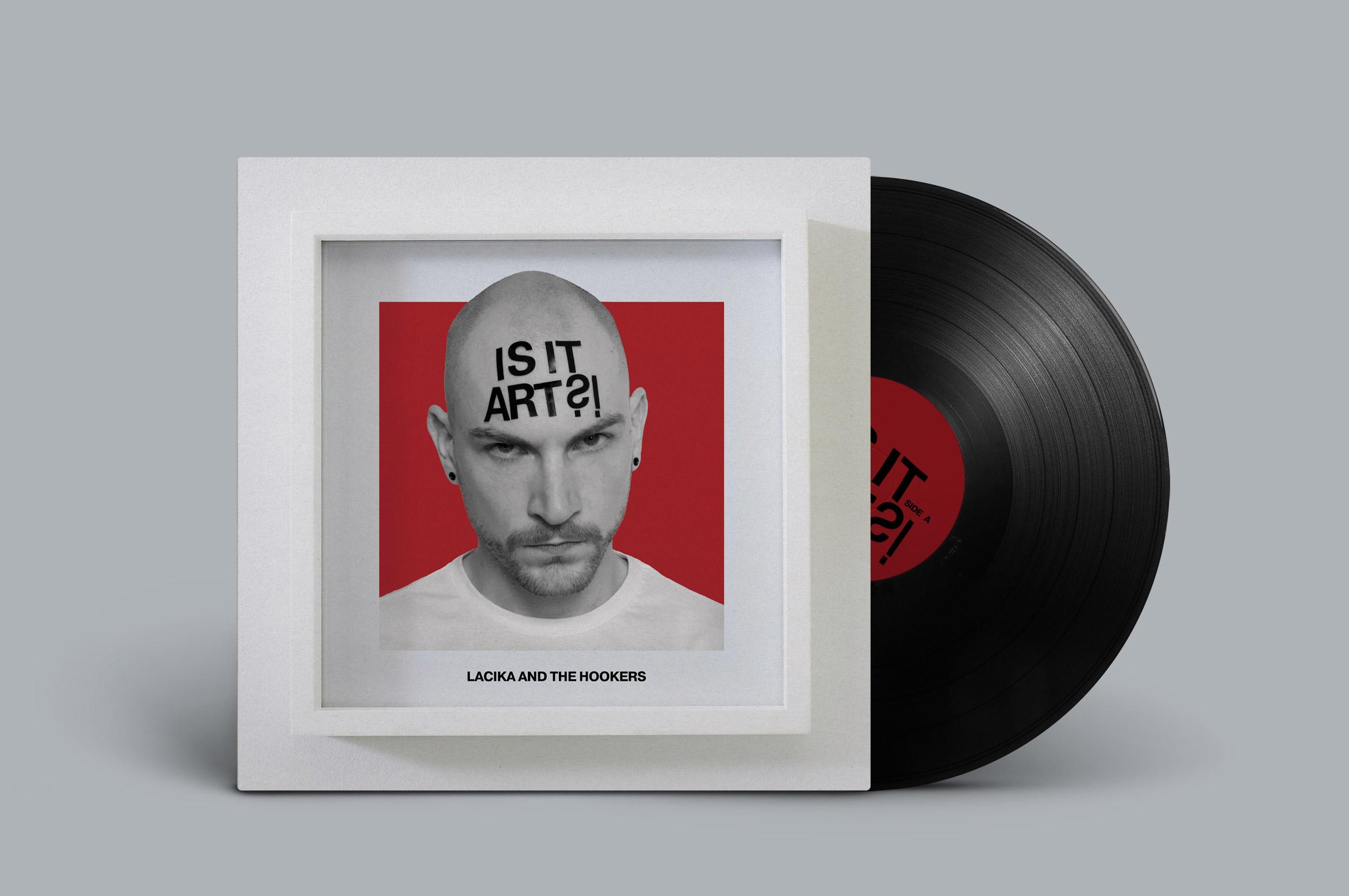 LATH Lacika And The Hookers Mario Dzurila Album Cover Design Music EP