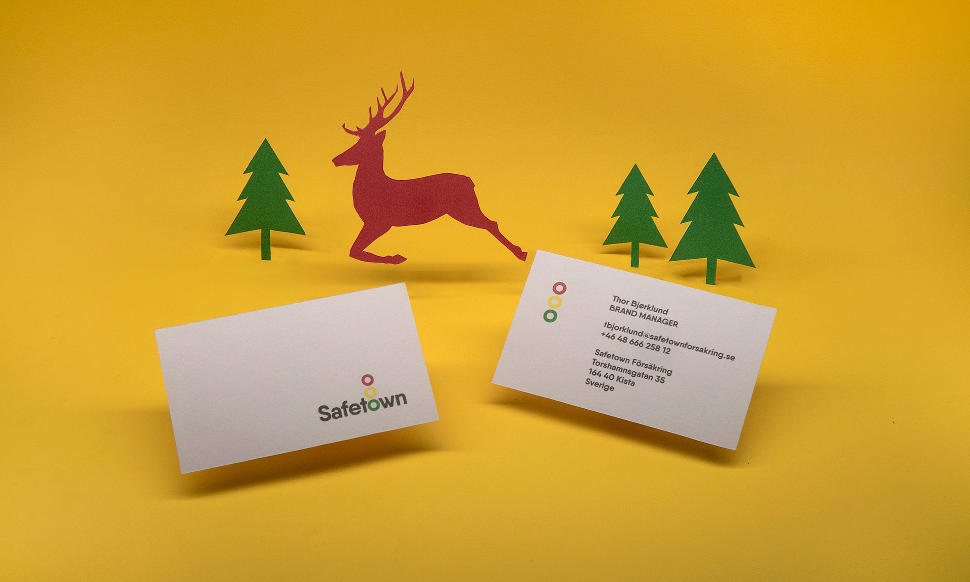 Safetown Logo Design Mario Dzurila Startling Brands