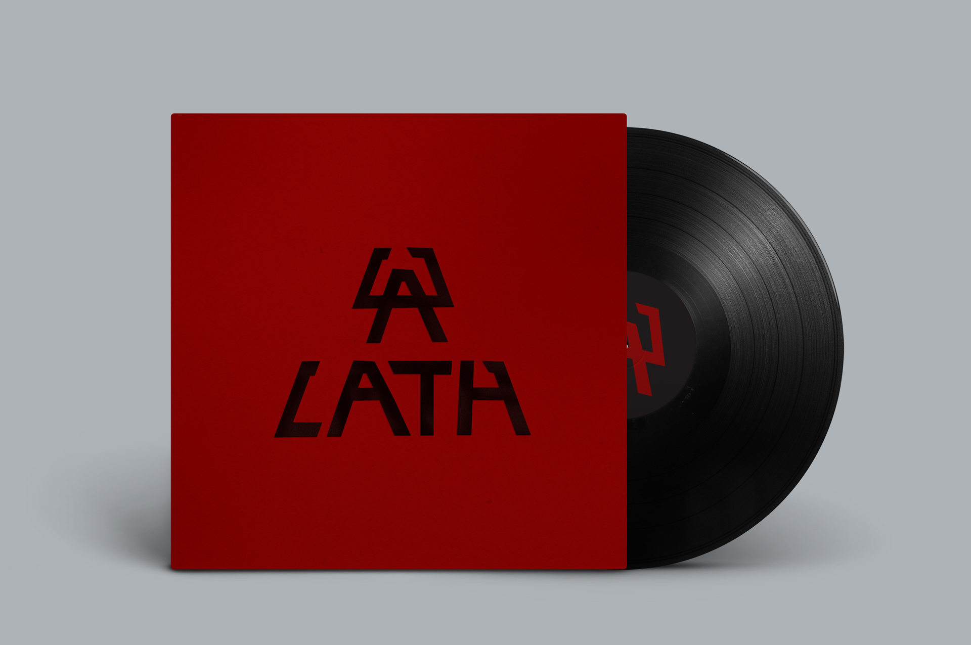 DZURILA LATH Visual Identity Logo Music Band Album Cover